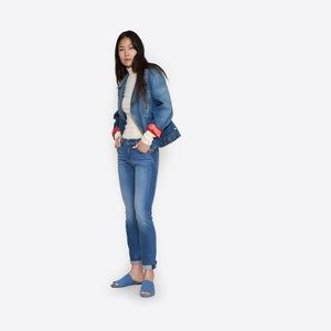 NWT Vintage Style Levi's 505 c Cropped Jeans